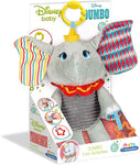 Clementoni Disney Dumbo First Activity Rattle Soft Plush Toy 17297