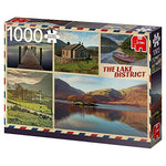 Jumbo 18840 Premium Collection Greetings from The Lake District 1000 Piece Jigsaw Puzzle
