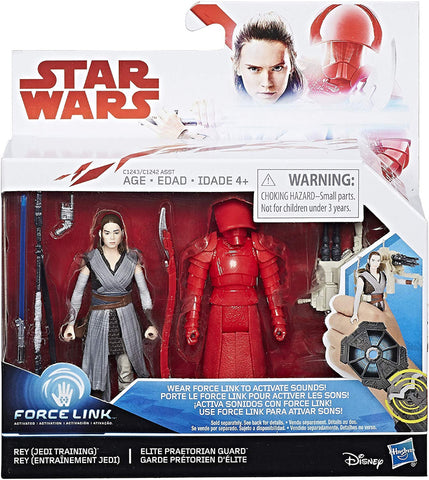 Star Wars Force Link Rey & Elite Praetorian Guard Figure Pack