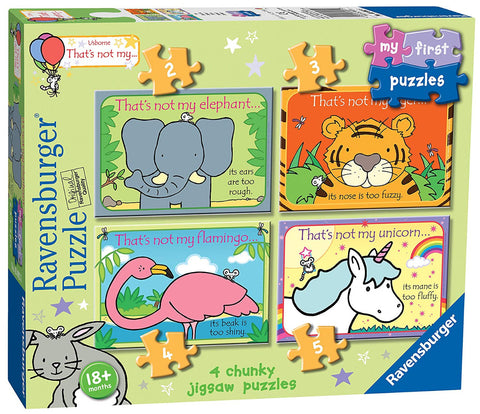 Ravensburger UK 3002 That's Not My?... My First Jigsaw Puzzles (2, 3, 4 & 5pc)