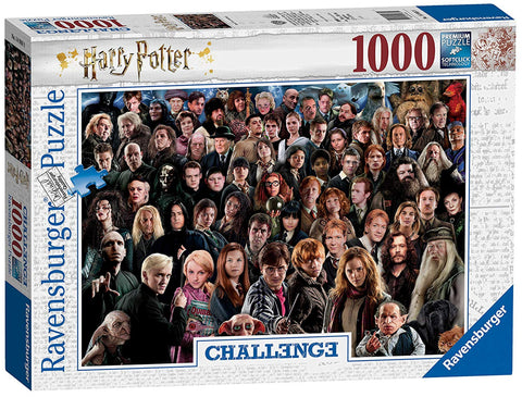Ravensburger 14988 Harry Potter 1000pc Challenge Jigsaw Puzzle