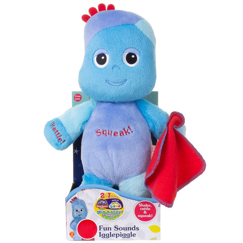 In the Night Garden Fun Sounds Iggle Piggle Soft Plush Toy