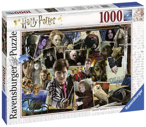 Ravensburger 15170 Harry Potter Characters 1000pc Jigsaw Puzzle