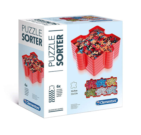 Clementoni Puzzle Sorter Accesories For Up To 1000 Pieces