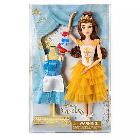 Official Disney 28cm Belle Ballet Doll