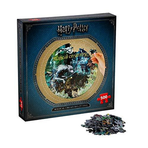 Winning Moves Harry Potter Magical Creatures 500 Piece Jigsaw Puzzle