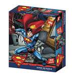 DC Comic SM32523 Superman Strength 3D Effect 500 Piece Jigsaw Puzzle