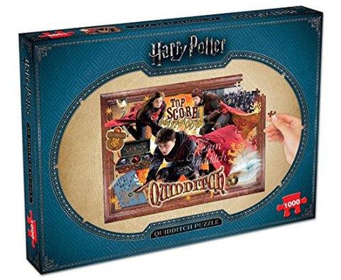 Winning Moves Harry Potter Quidditch 1000 piece Jigsaw Puzzle 2497