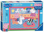 Ravensburger 5065 First Floor Peppa Pig Unicorn Fun, 16pc Jigsaw Puzzle
