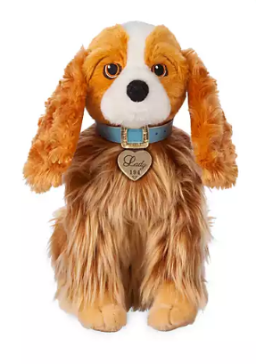 Official Disney Lady and the Tramp Movie - Lady 30cm Soft Plush Toy