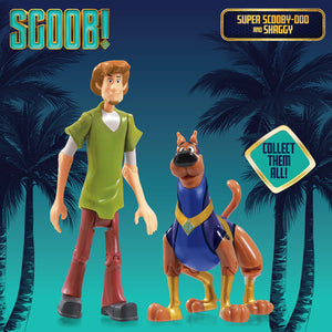Scoob Movie - Scooby Doo Twin Pack Action Figures - Super Scoob and Shaggy