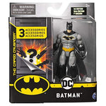 Batman  4 Inch Action Figure with 3 Mystery Accessories