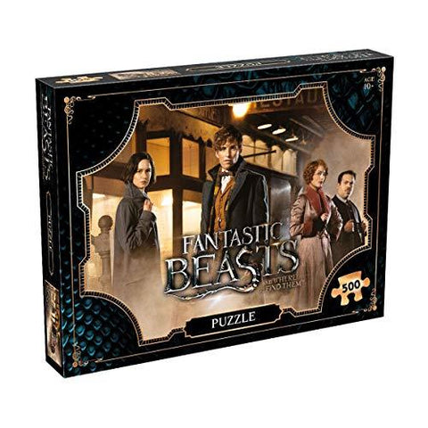 Harry Potter 500 Piece Fantastic Beasts Jigsaw Puzzle