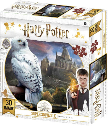 Harry Potter Hedwig 3D Jigsaw Puzzle 300 Piece - 32509