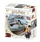 Harry Potter Ford Anglia and Ron Weasley 3D Jigsaw Puzzle 300 Piece - 32507
