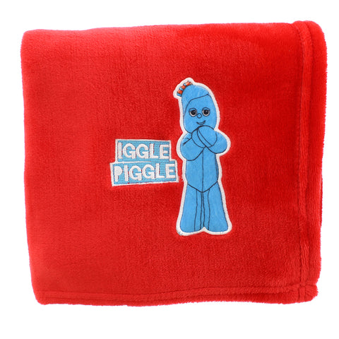 In The Night Garden Iggle Piggle Red Blanket