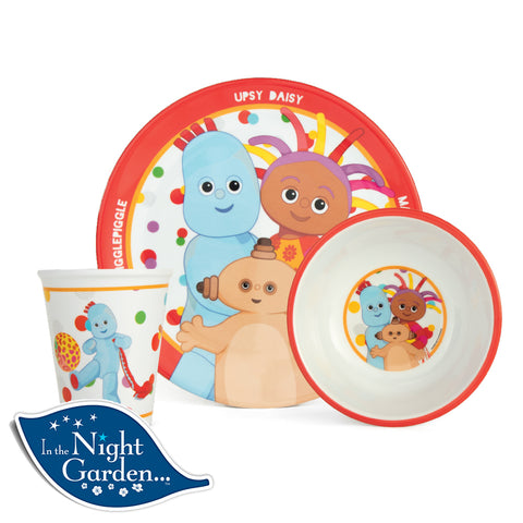 In The Night Garden 3 Piece Dinner Set