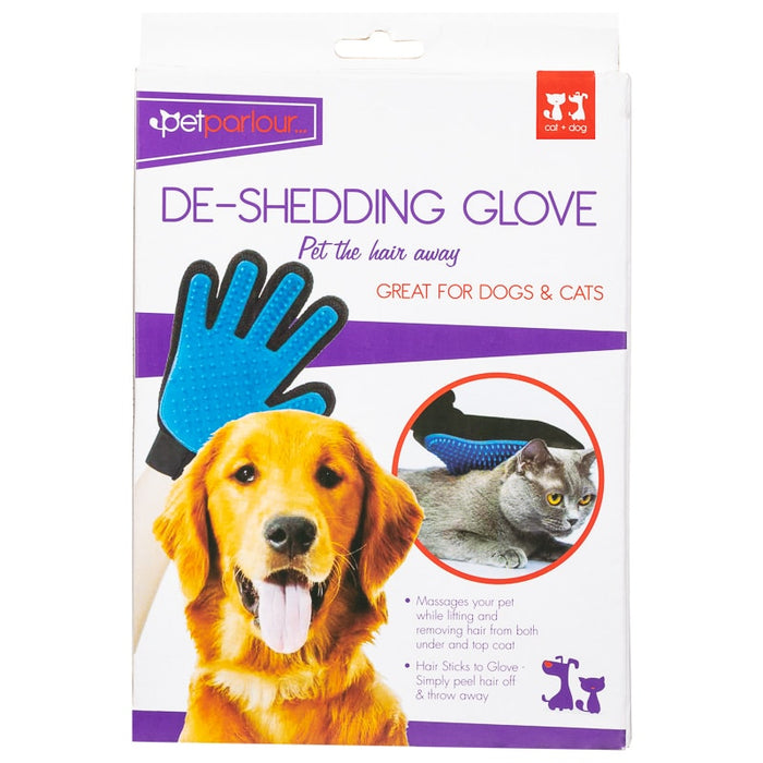 Pet Parlour De shedding glove mitt