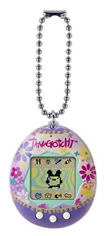 BANDAI 42866 Tamagotchi Original Paradise - Feed, Care, Nurture - Virtual Pet with chain for on the go play