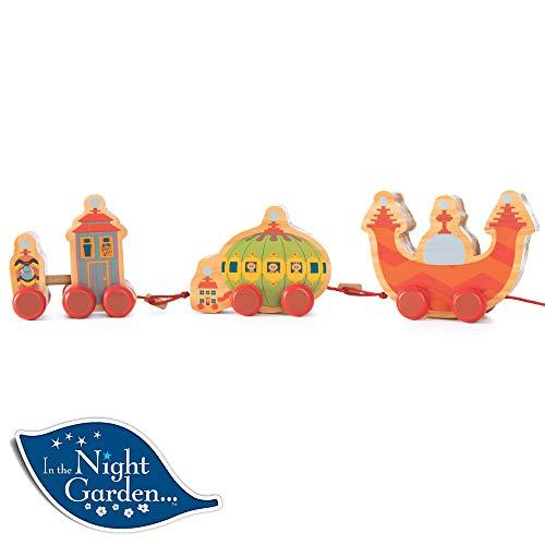EDT In The Night Garden Wooden Pull Along Ninky Nonk Train Toy Playset