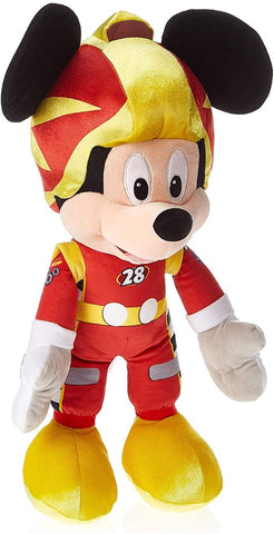 Disney Huge 50cm Mickey and The Roadster Racers Mickey Racing Outfit