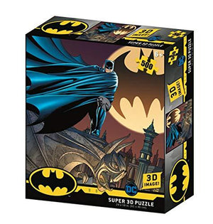 DC Comic BM32518 Batman - Signal 3D Effect Jigsaw Puzzle