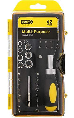 Equip Tools Multi Purpose 42 Piece Tool Set