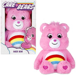Care Bears 14 Inch Cheer Bear Soft Plush Toy With Coin