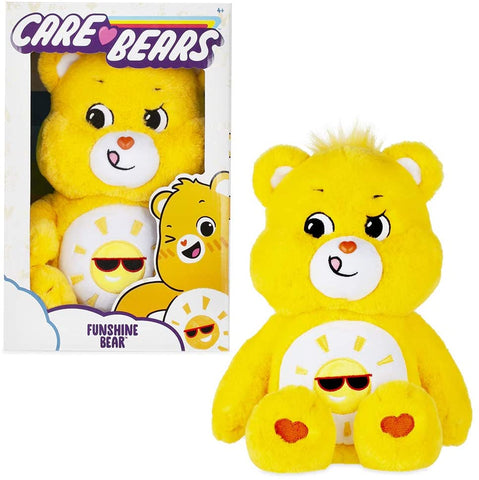 Care Bears 14 Inch Funshine Bear Soft Plush Toy With Coin