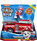 Paw Patrol 6054135 Marshall?s Fire Engine Vehicle with Collectible Figure