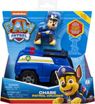 Paw Patrol 6054118 Chase?s Patrol Cruiser Vehicle with Collectible Figure