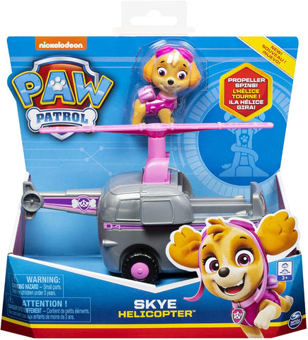 Paw Patrol 6054187 Skye?s Helicopter Vehicle with Collectible Figure