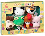 Animal Friends Hand Puppets 6 Pack