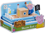 Peppa Pig 07209 Wooden Boat with George Figure