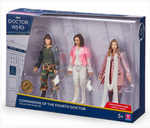 Doctor Who - Companions of the Fourth Doctor Action Figure 3-pack