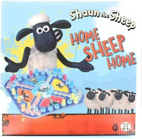 Shaun the Sheep Home Sheep Home Pop Up Board Game (Wallace and Gromit)