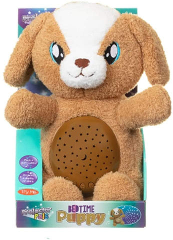 Projector Pals Bedtime Puppy Plush Toy With Lullaby