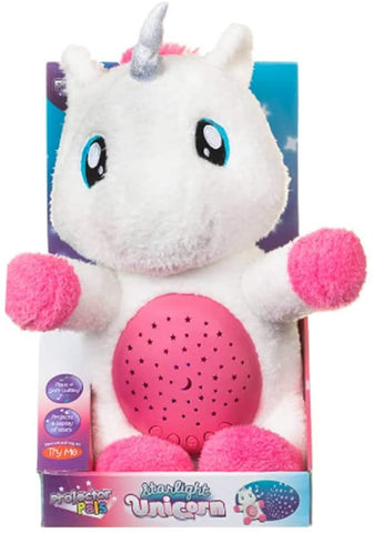 Projector Pals Starlight Unicorn Plush Toy With Lullaby