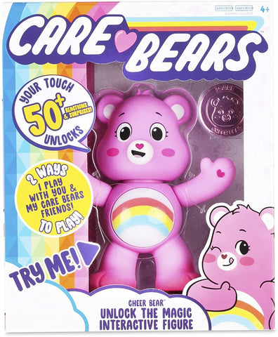 Care Bears Unlock the Magic Interactive Figure 5''- Cheer Bear