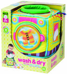ALEX Toys ALEX Jr. Wash and Dry Plush Washing Machine - Baby Toy