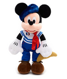 Official Disney French Mickey Mouse Paris 38 cm Soft Plush Toy
