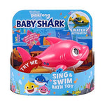 Robo Alive Junior Mommy Shark Battery-Powered Sing and Swim Bath Toy by Zuru
