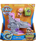 PAW PATROL 6059520 Dino Rescue Skyes Deluxe Rev Up Vehicle with Mystery Dinosaur Figure