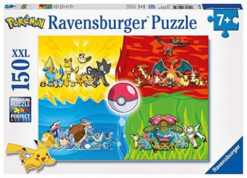 Ravensburger Pokemon - 150 piece Jigsaw Puzzle with Extra Large Pieces