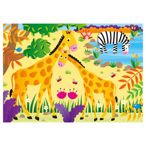 Galt 4 Puzzles In A Box Jungle Animal Jigsaw Puzzle