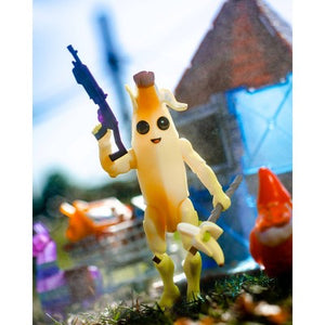 Fortnite Solo Mode 4'' Core Figure Pack Peely Yellow