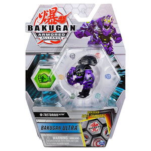Bakugan Ultra, Tretorous, 3-inch Tall Armored Alliance Collectible Action Figure and Trading Card