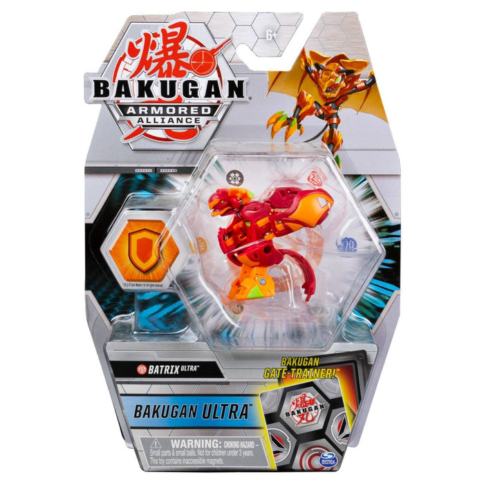 Bakugan Ultra Batrix 3'' Tall Armored Alliance Collectible Action Figure and Trading Card