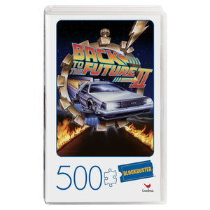 Back To The Future II Movie 500 Piece Jigsaw Puzzle In VHS Video Case
