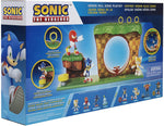 Sonic The Hedgehog Green Hill Zone Playset with 2.5'' Sonic Action Figure